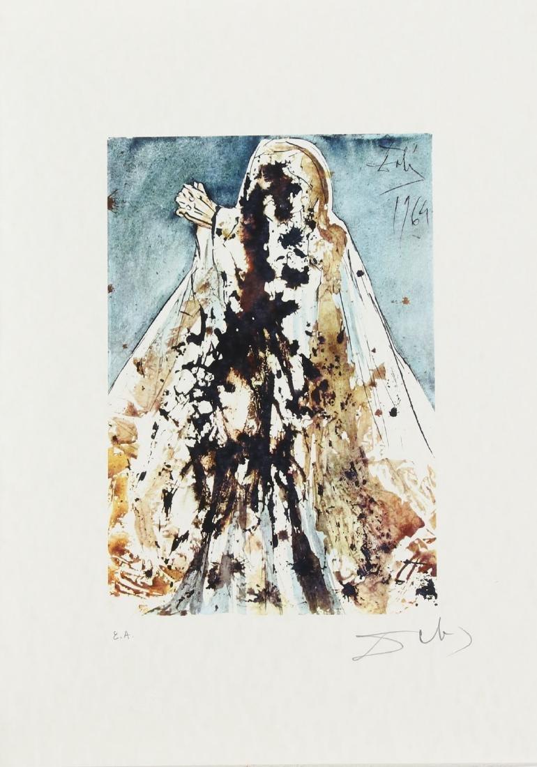 SALVADOR DALI' Cartella contenente 6 litografie. - 6