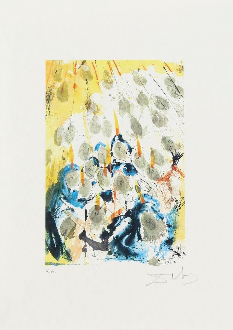 SALVADOR DALI' Cartella contenente 6 litografie. . - 2
