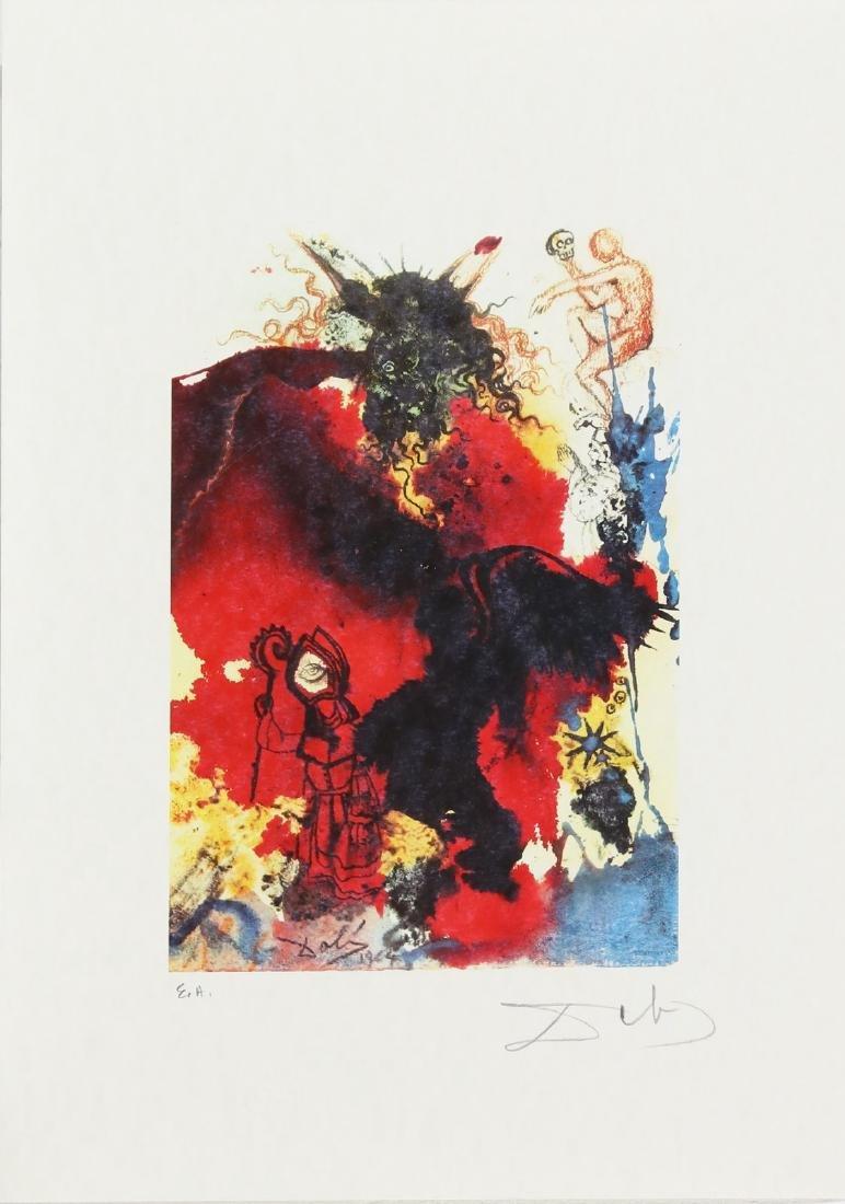 SALVADOR DALI' Cartella contenente 6 litografie. . - 4