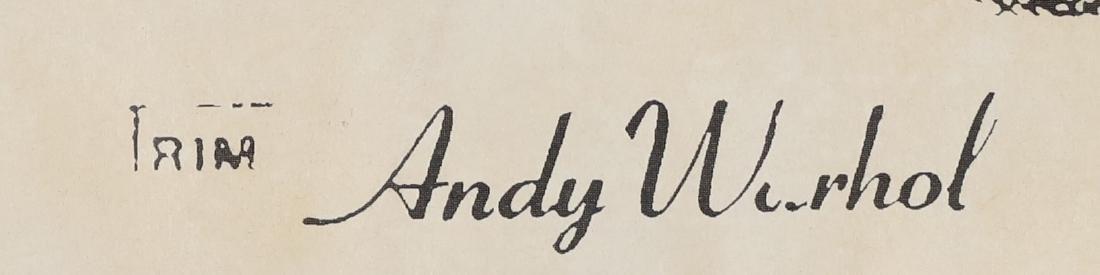 ANDY WARHOL Cow. - 2