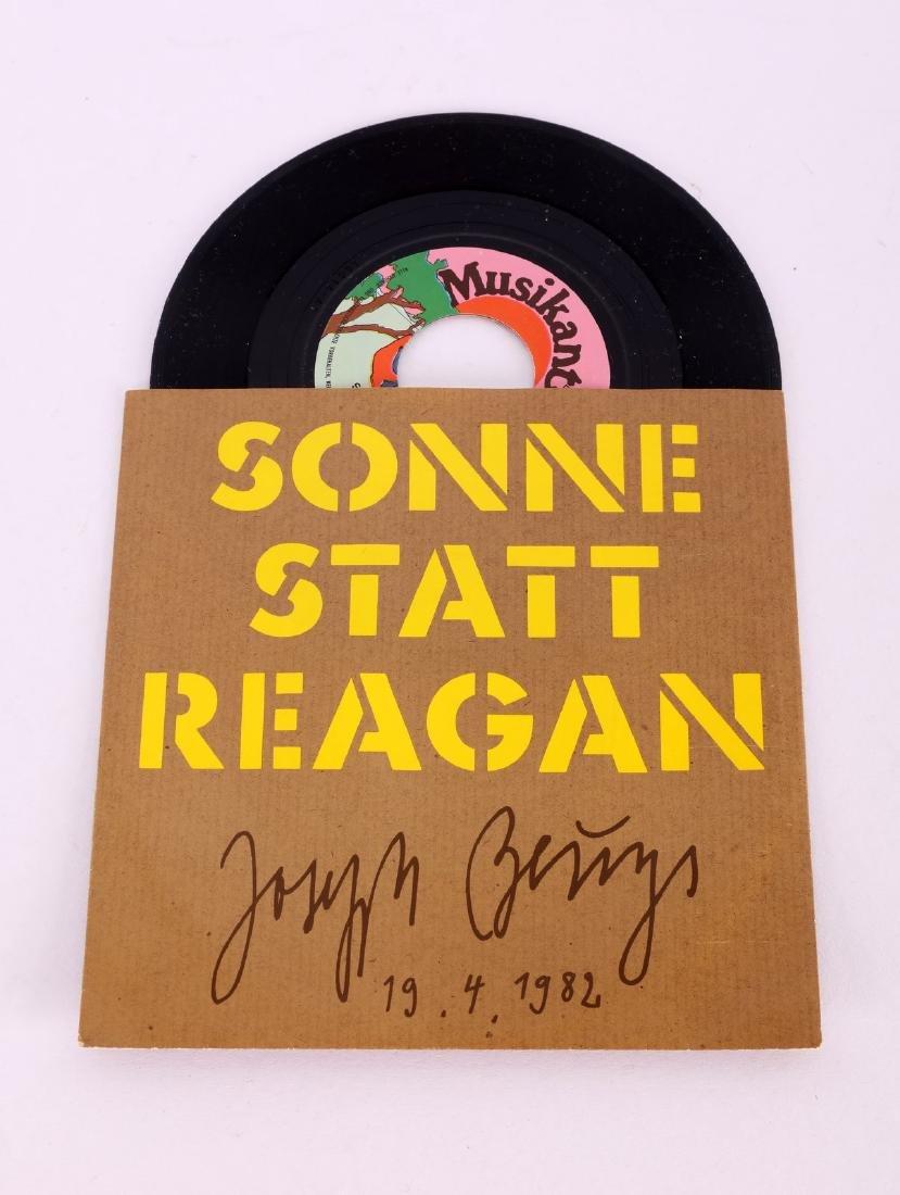 JOSEPH BEUYS Sonne State Reagan.