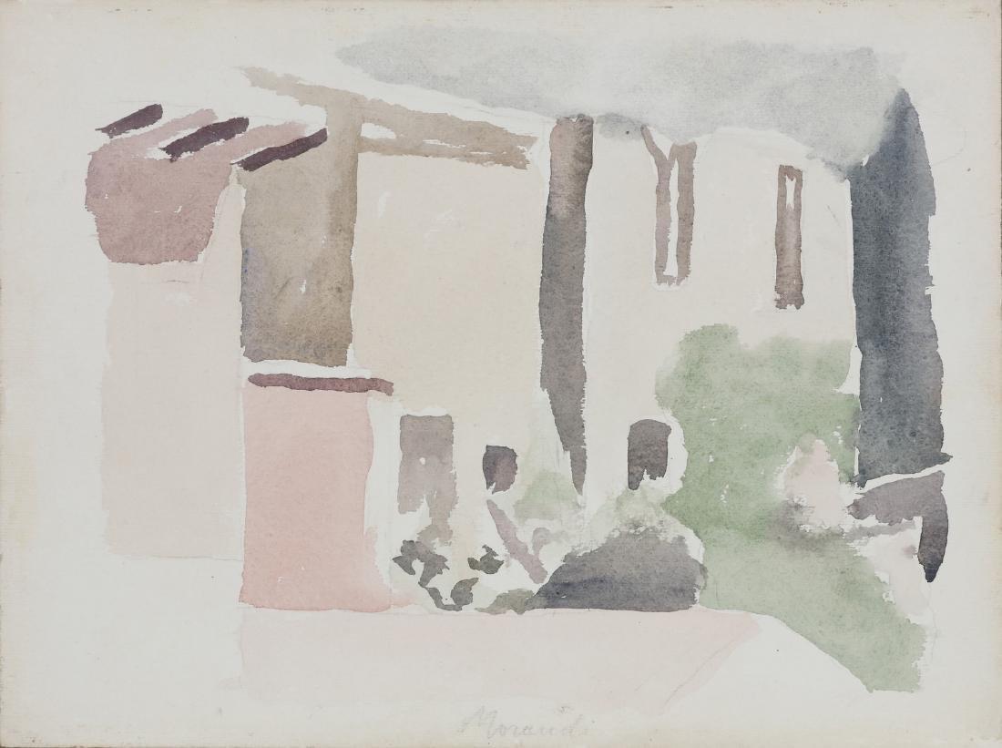 GIORGIO MORANDI Landscape.