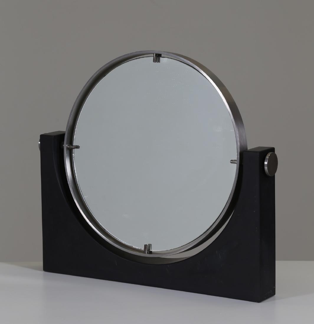 MANIFATTURA ITALIANA  Specchio da tavolo in pietra