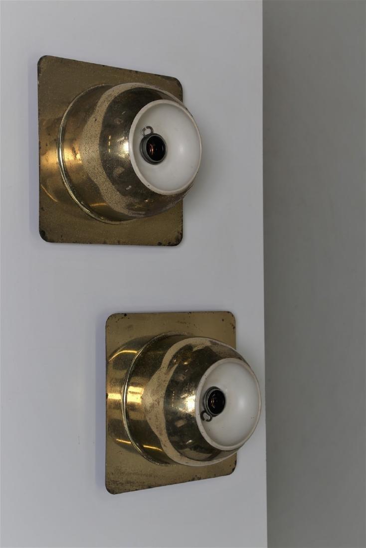 GOFFREDO REGGIANI Coppia di lampada da parete in