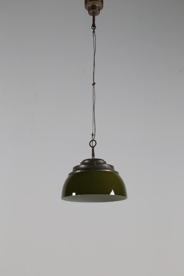 MANIFATTURA ITALIANA  Lampada da soffitto in vetro