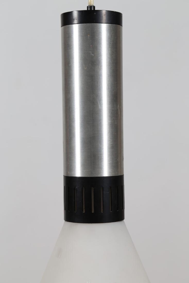 STILNOVO  Lampada a sospensione in alluminio e vetro