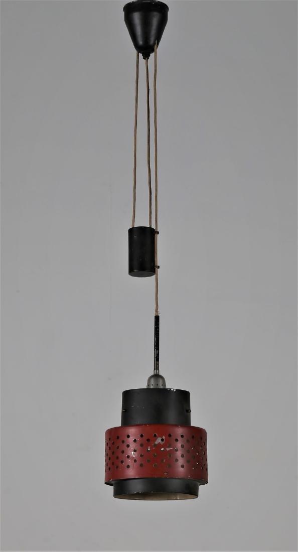 STILNOVO  Lampada a sospensione in metallo laccato,