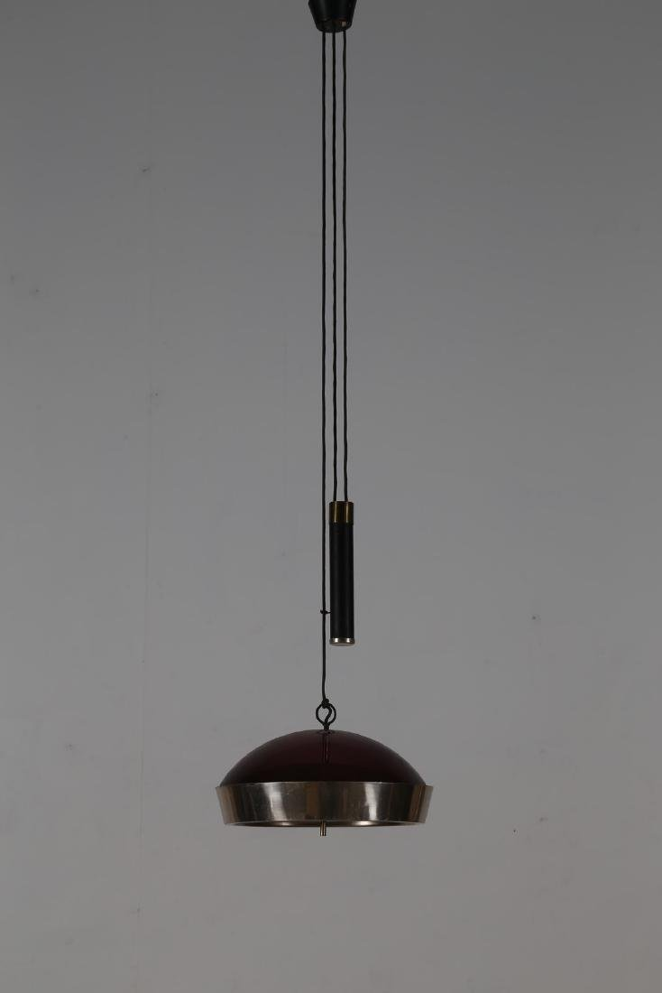 STILUX Lampada saliscendi a sospensione in metallo