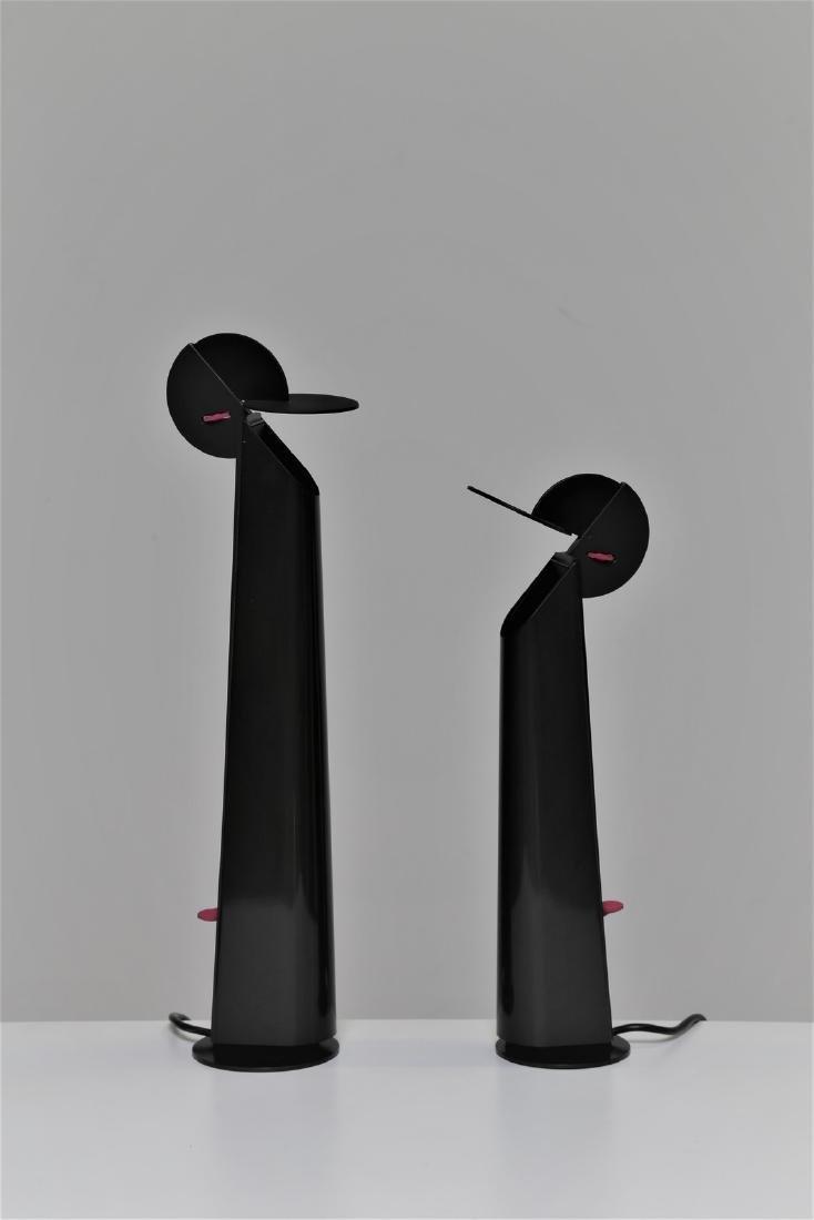 ACHILLE & PIERGIACOMO CASTIGLIONI  Due lampade da