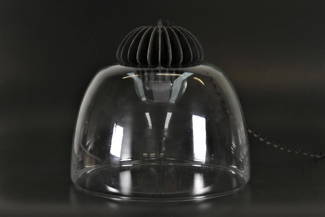 GIGI & PEPE TANZI  Lampada da tavolo in vetro e