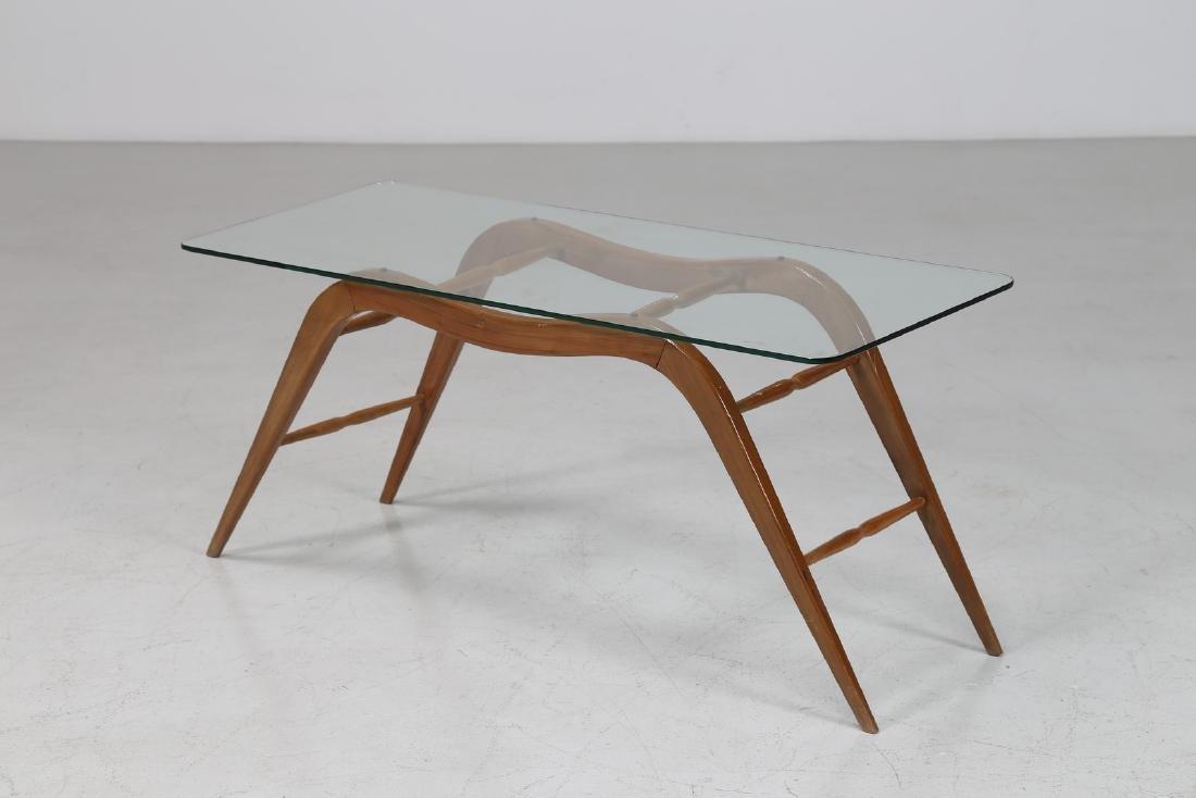 MELCHIORRE BEGA Tavolino da caffè in legno con piano