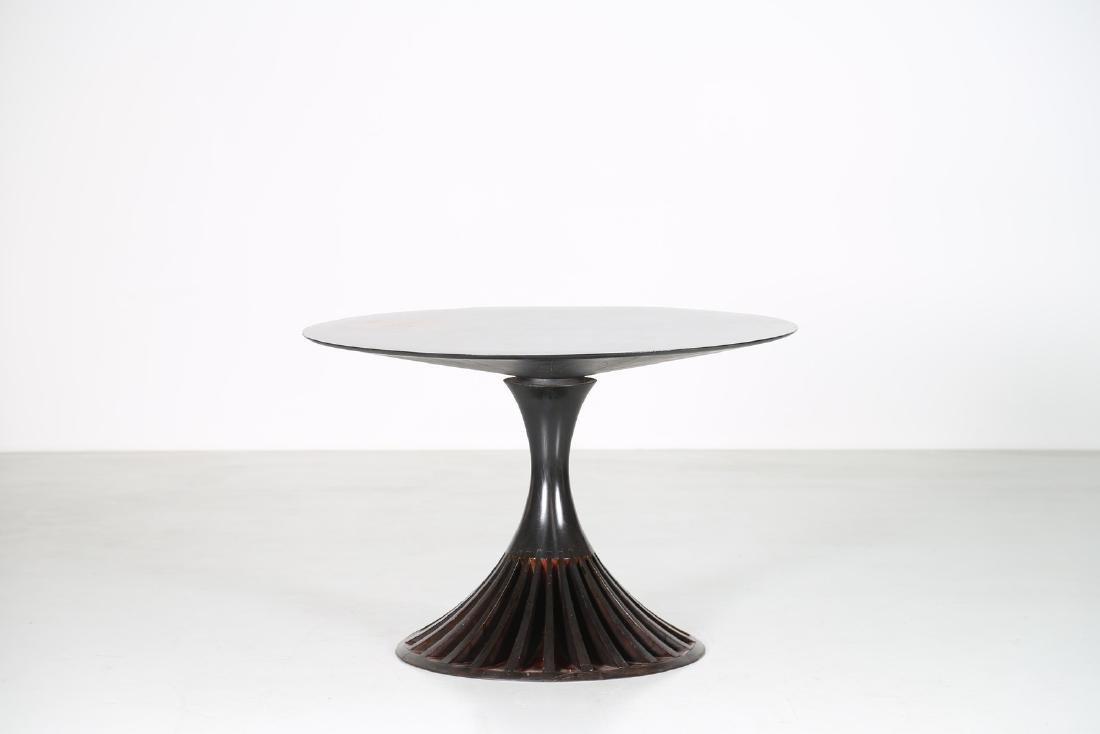 OSVALDO BORSANI Attrib. Tavolo da gioco in legno