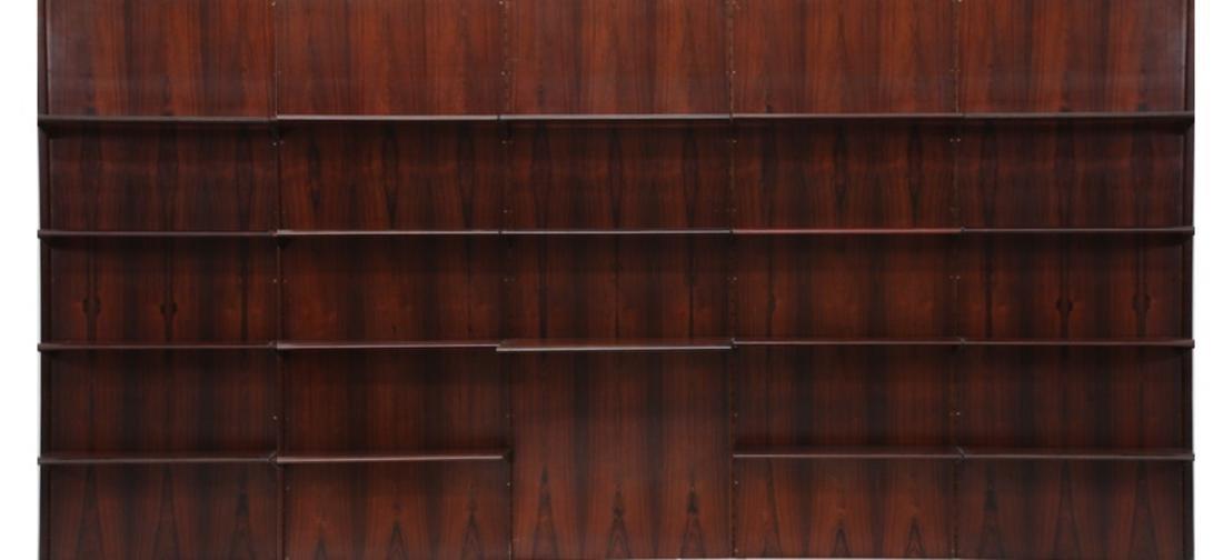 GIORGIO MADINI MORETTI Libreria in palissandro con