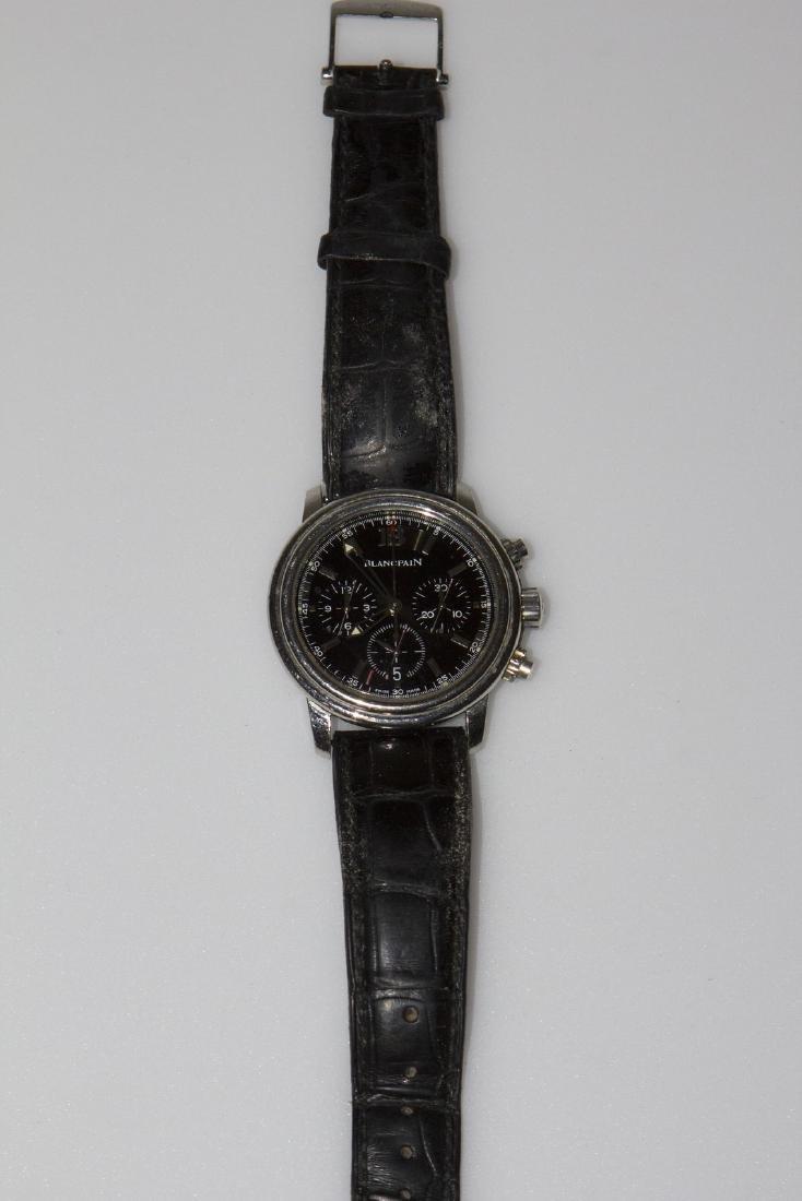 BLANCPAIN Blancpain Chronograph watch in white gold.
