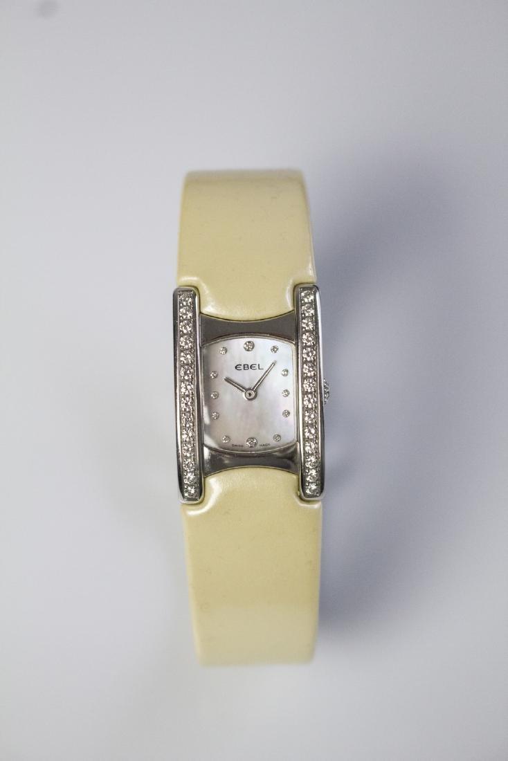 EBEL Steel and diamonds Ebel watch. Box and guarantee