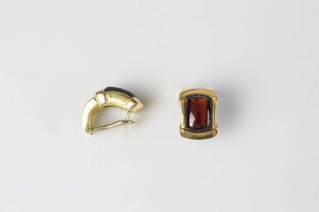 DAMIANI  Gold Damiani earrings .