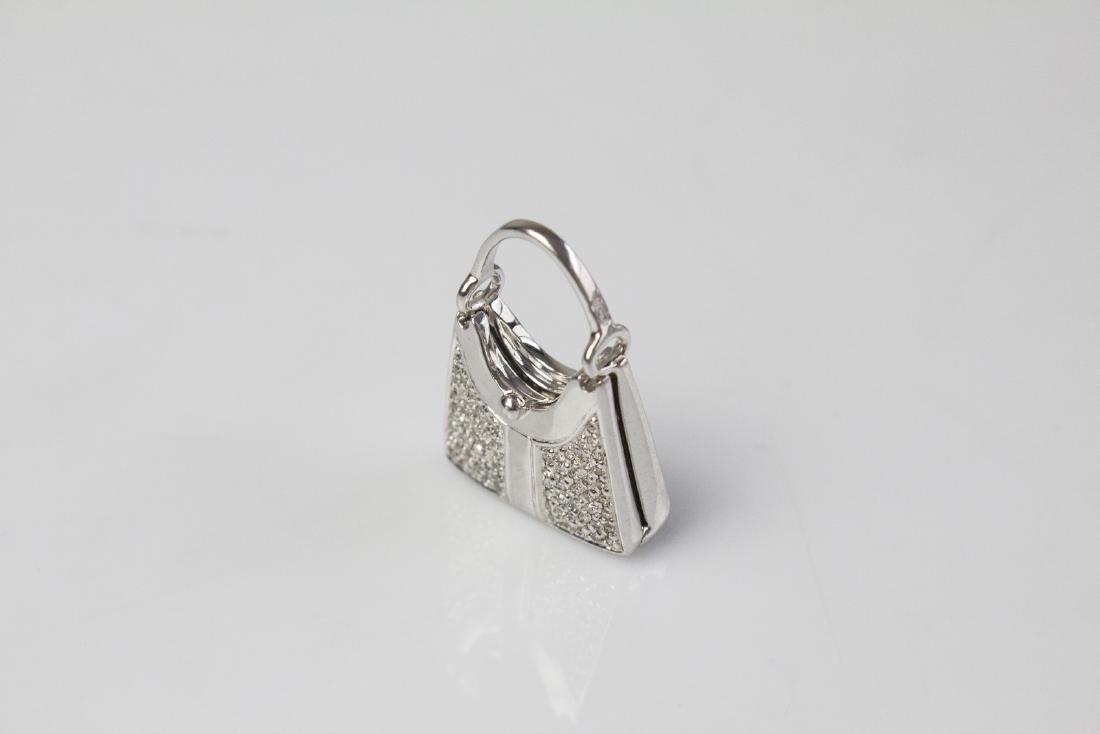[Nessun Autore] Rosato pendent handbag shape.