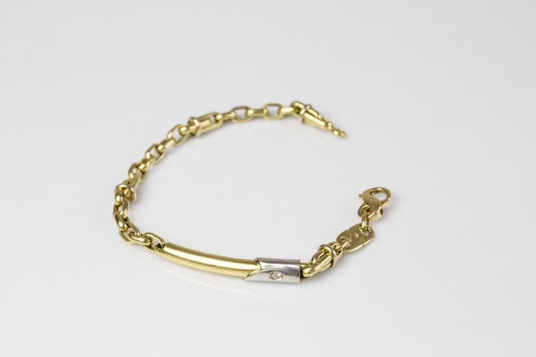 [Nessun Autore] Diamonds bracelet .