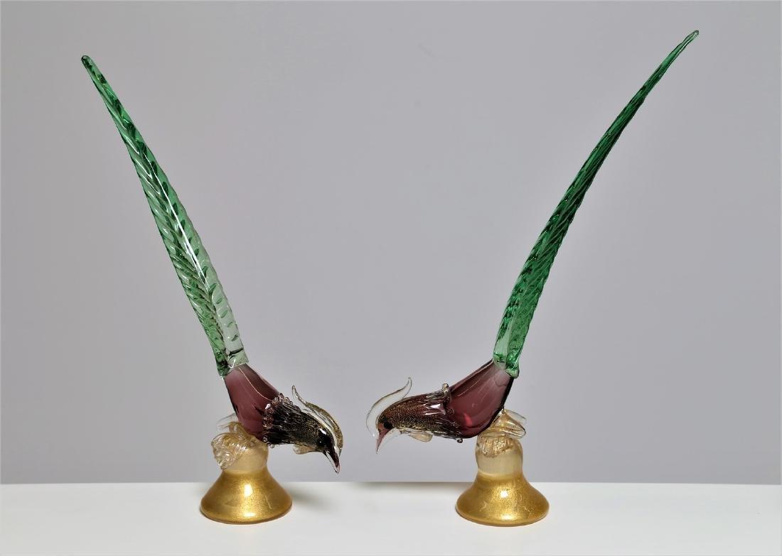 ARCHIMEDE SEGUSO Coppia di fagiani.