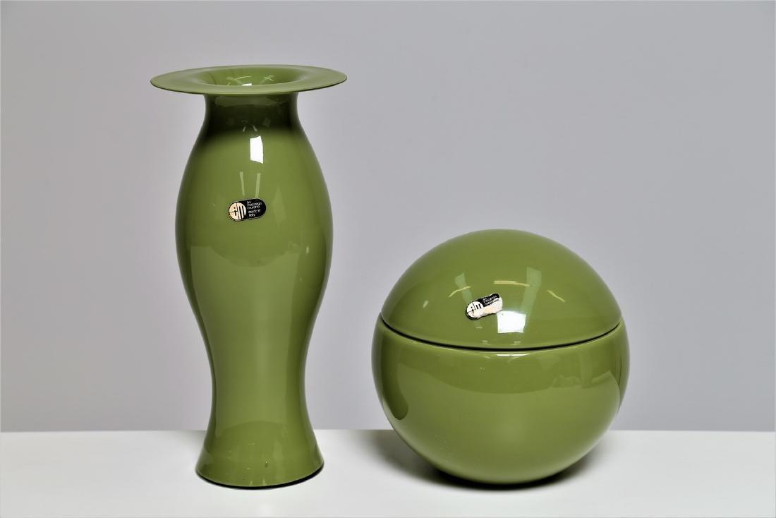 CARLO NASON Un vaso e una scatola .