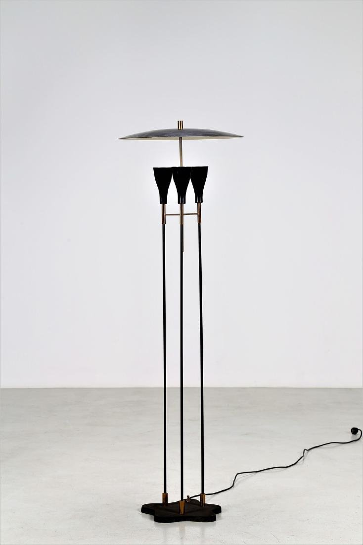 -  Floor lamp.