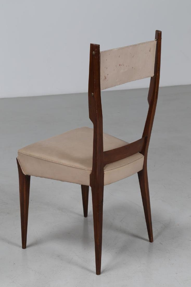 GIUSEPPE AMEDEO GORI Four chairs. - 5