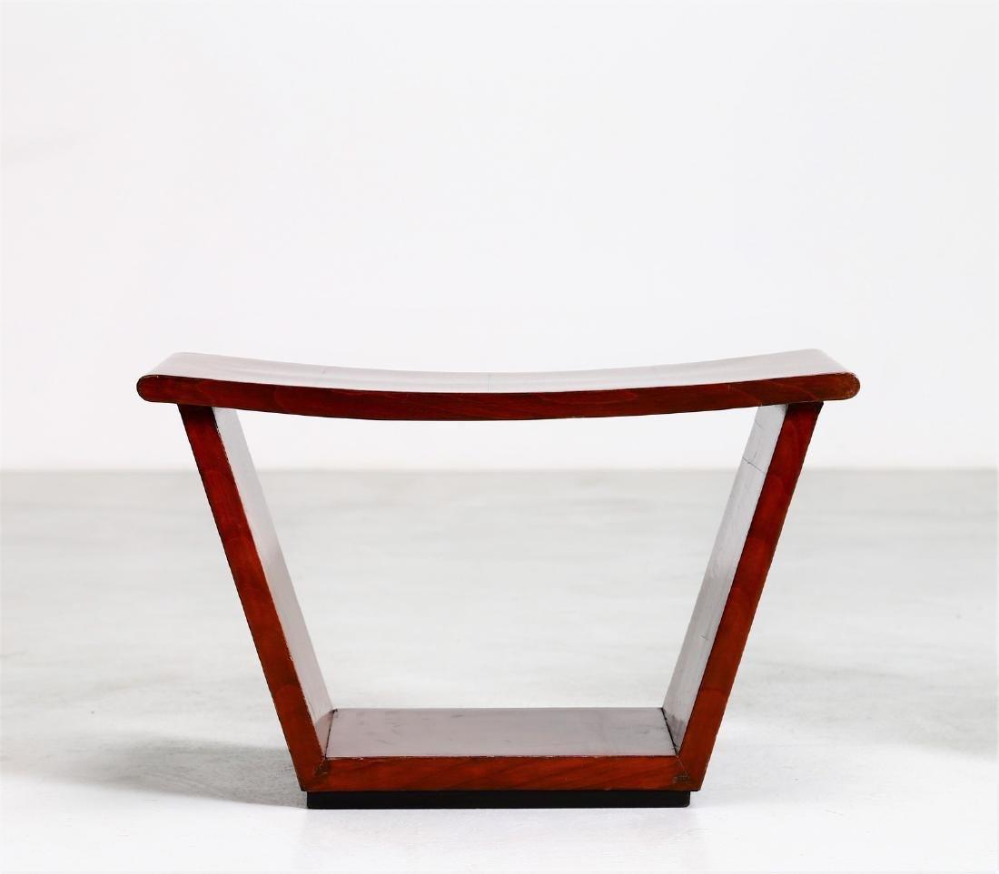 OSVALDO BORSANI Pair of stools. - 2