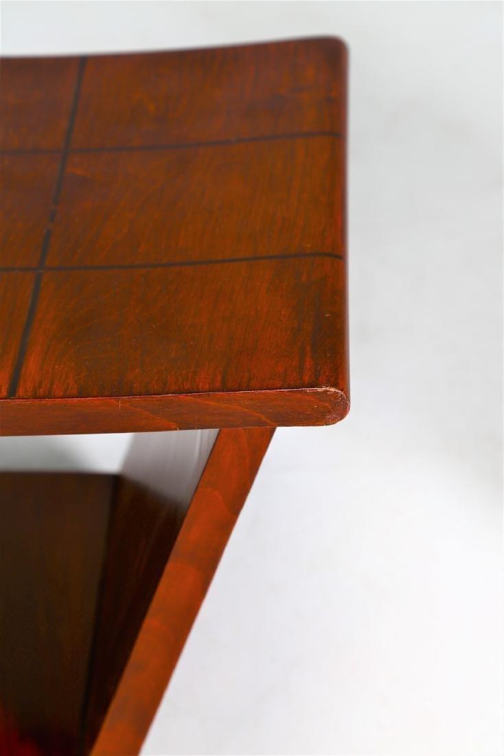 OSVALDO BORSANI Pair of stools. - 3