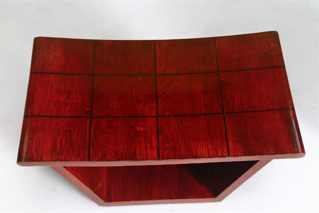 OSVALDO BORSANI Pair of stools. - 4