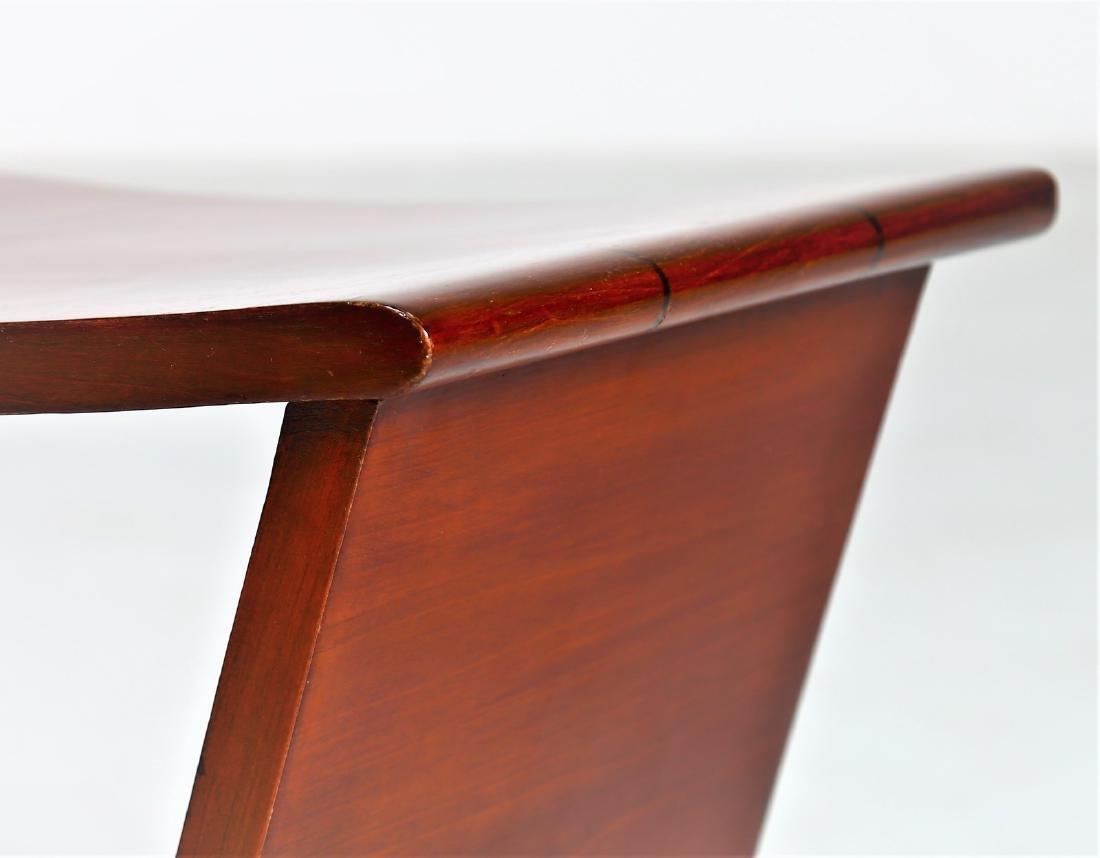 OSVALDO BORSANI Pair of stools. - 5