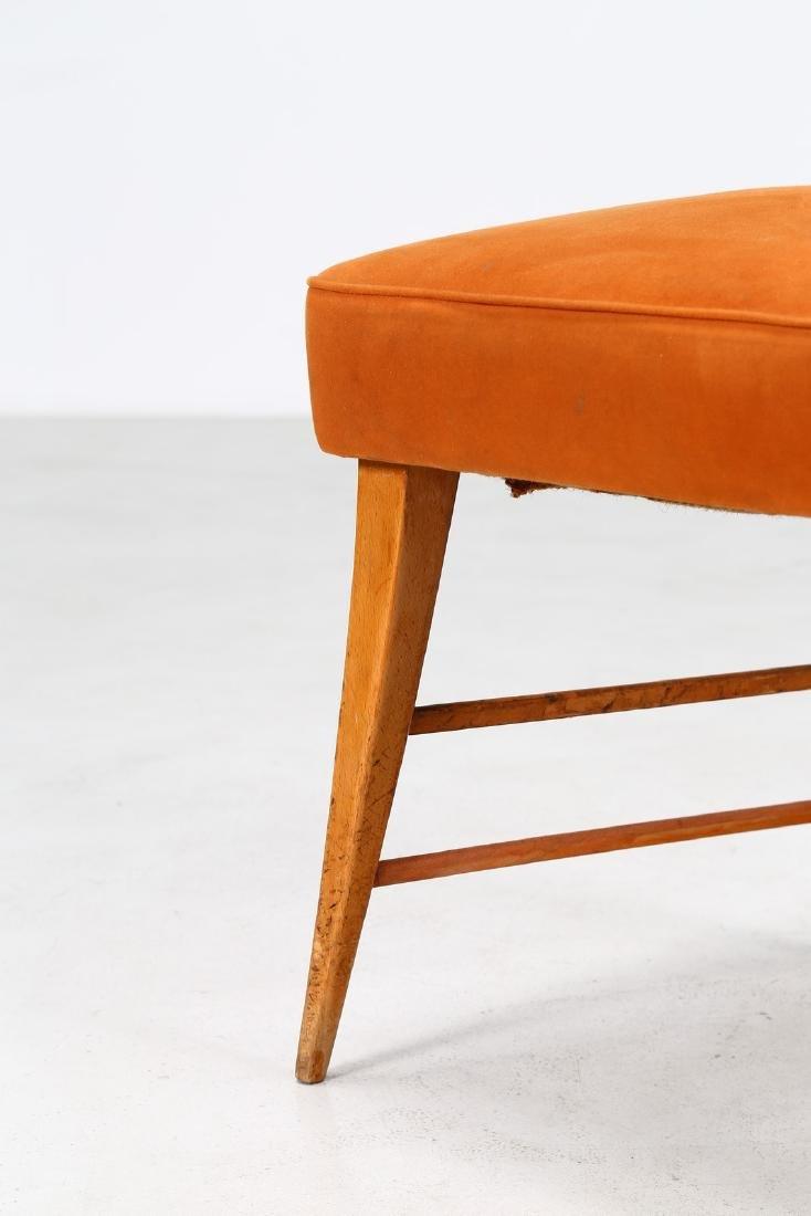 ITALO GAMBERINI Eight chairs. - 2