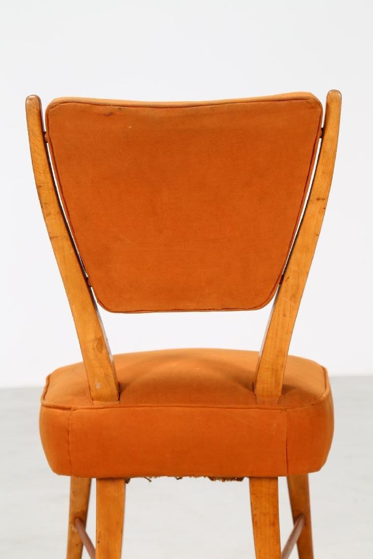ITALO GAMBERINI Eight chairs. - 4