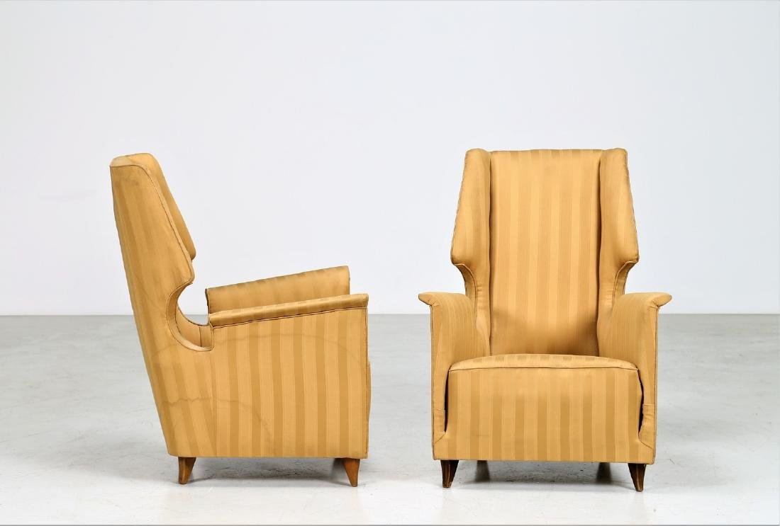 GIUSEPPE AMEDEO GORI Pair of armchairs. - 2