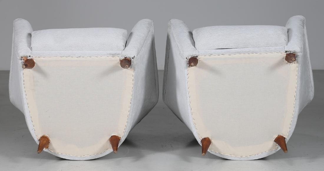 ICO PARISI Pair of armchairs. - 3