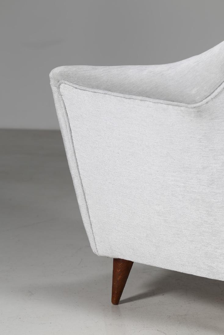 ICO PARISI Pair of armchairs. - 6
