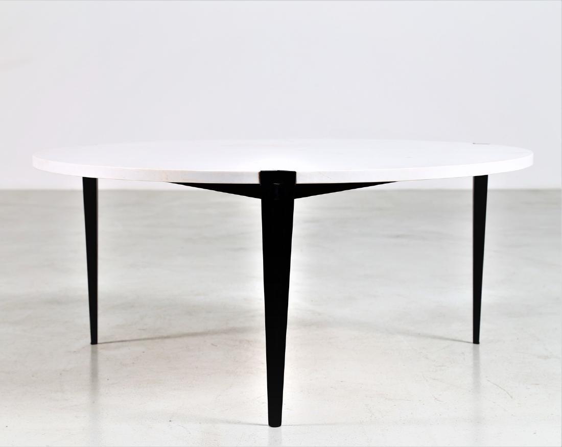 OSVALDO BORSANI Round small table. - 2