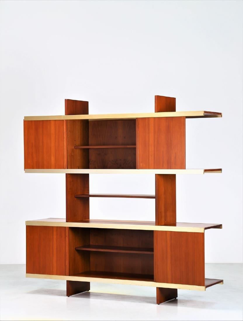 ANGELO MANGIAROTTI Bookcase. - 2