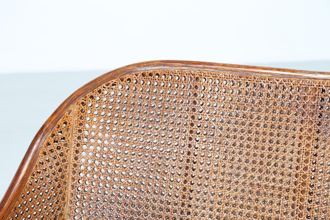 BONACINA 1889 Small sofa in bamboo and cane. - 8