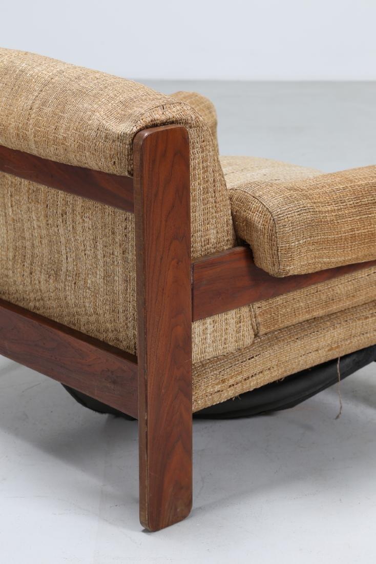 SERGIO SAPORITI Pair of armchairs in wood and original - 6