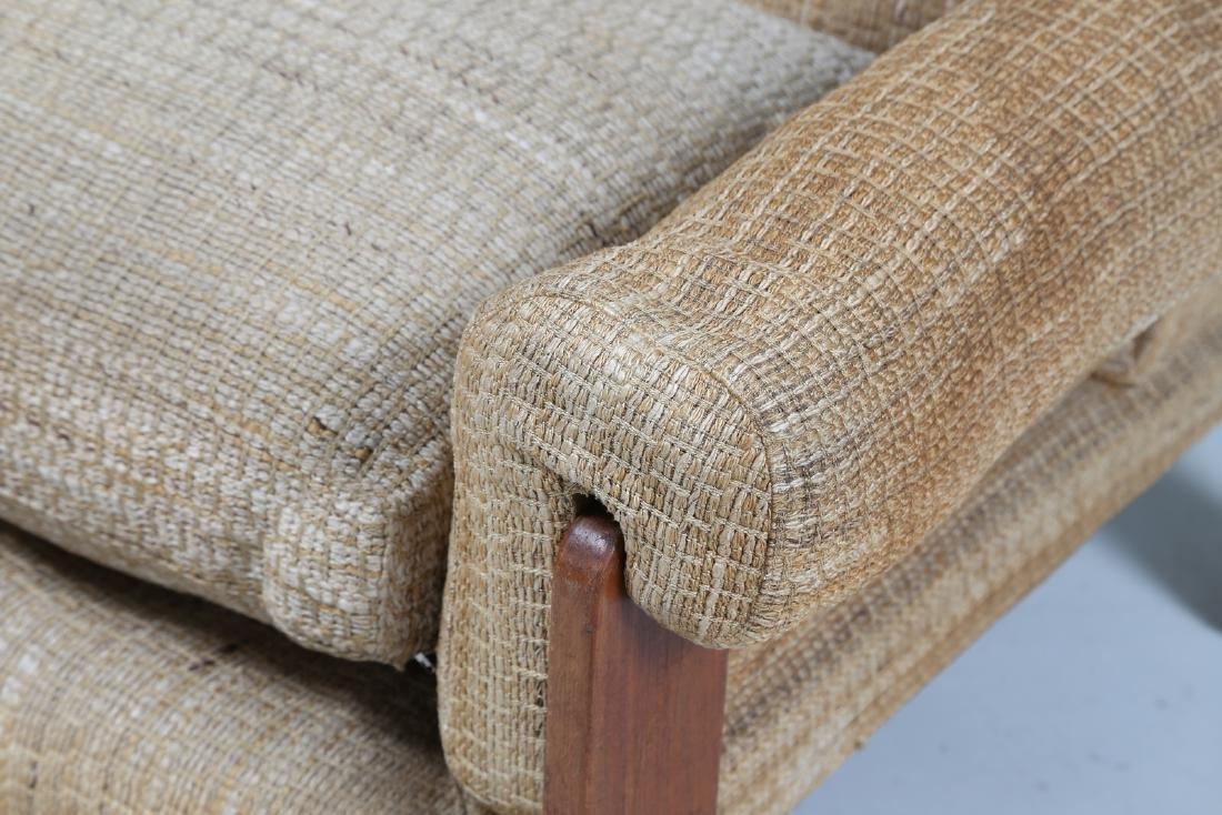 SERGIO SAPORITI Pair of armchairs in wood and original - 8