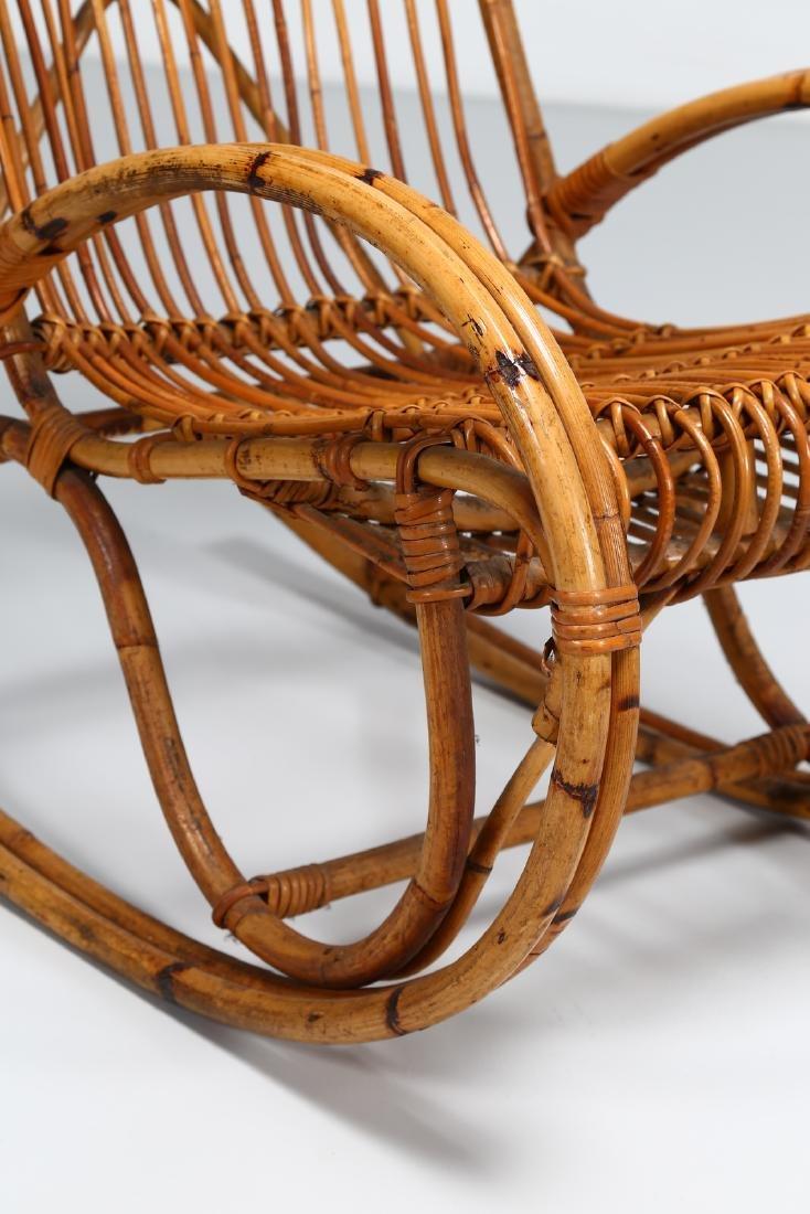 MANIFATTURA ITALIANA  Pair of rocking chairs, small - 6