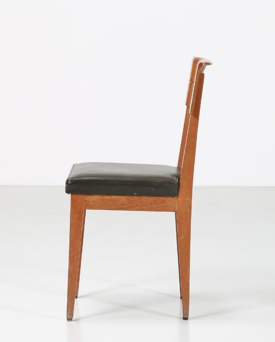 GIOVANNI MICHELUCCI Distinctive chair in teak and - 2