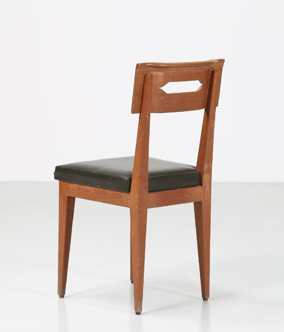 GIOVANNI MICHELUCCI Distinctive chair in teak and - 3