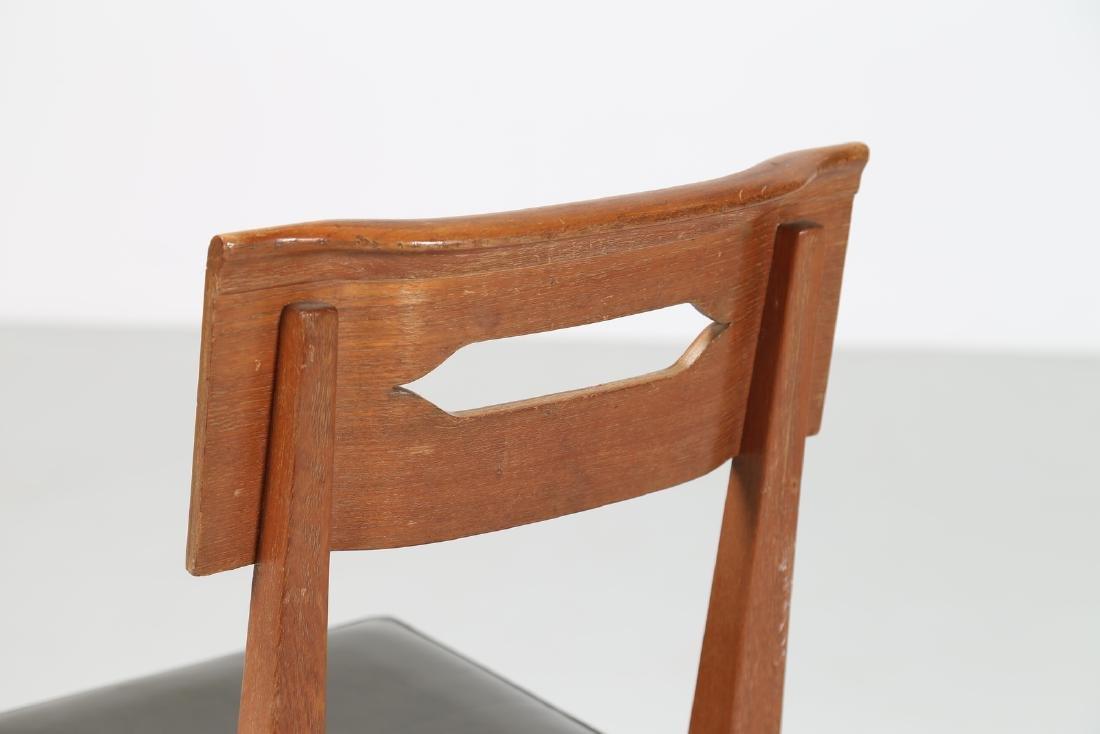 GIOVANNI MICHELUCCI Distinctive chair in teak and - 4