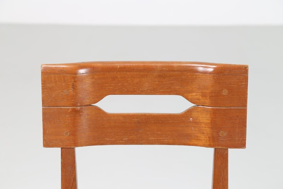 GIOVANNI MICHELUCCI Distinctive chair in teak and - 5