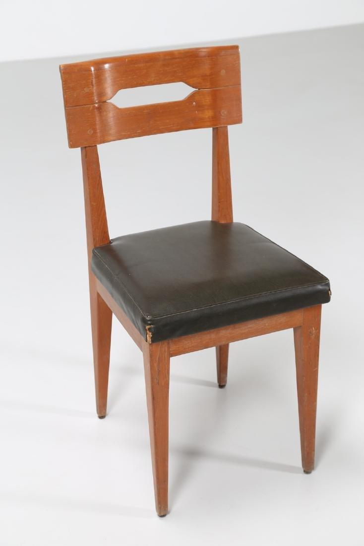 GIOVANNI MICHELUCCI Distinctive chair in teak and - 6