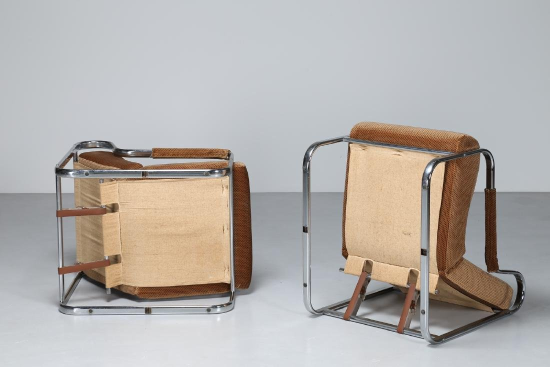 MANIFATTURA ITALIANA  Pair of armchairs. - 2
