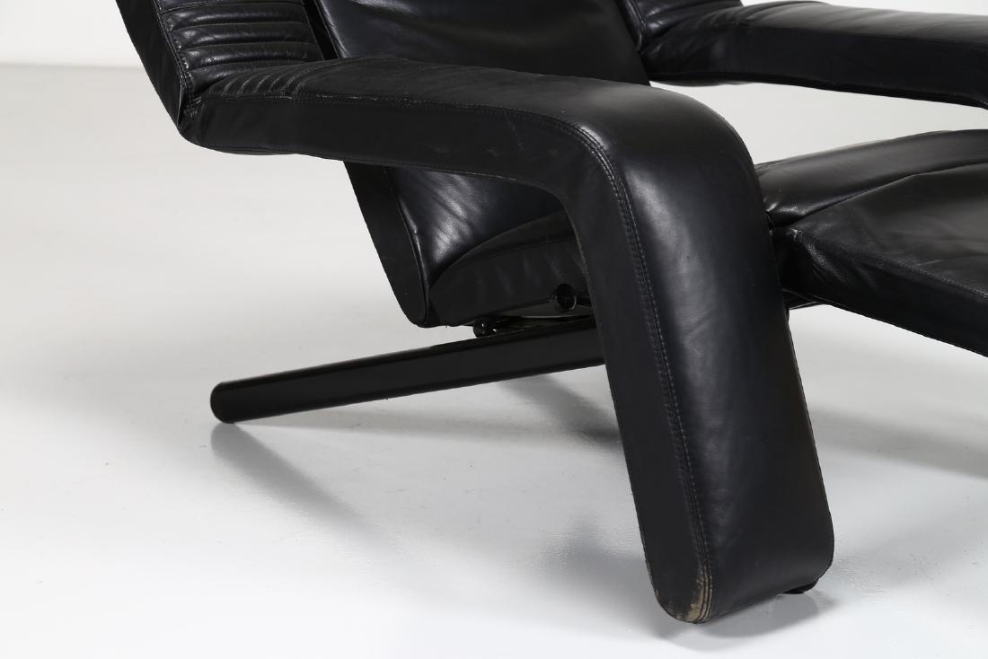 G.P.VITELLI E T.AMMANATI  Recliner armchair in metal - 3