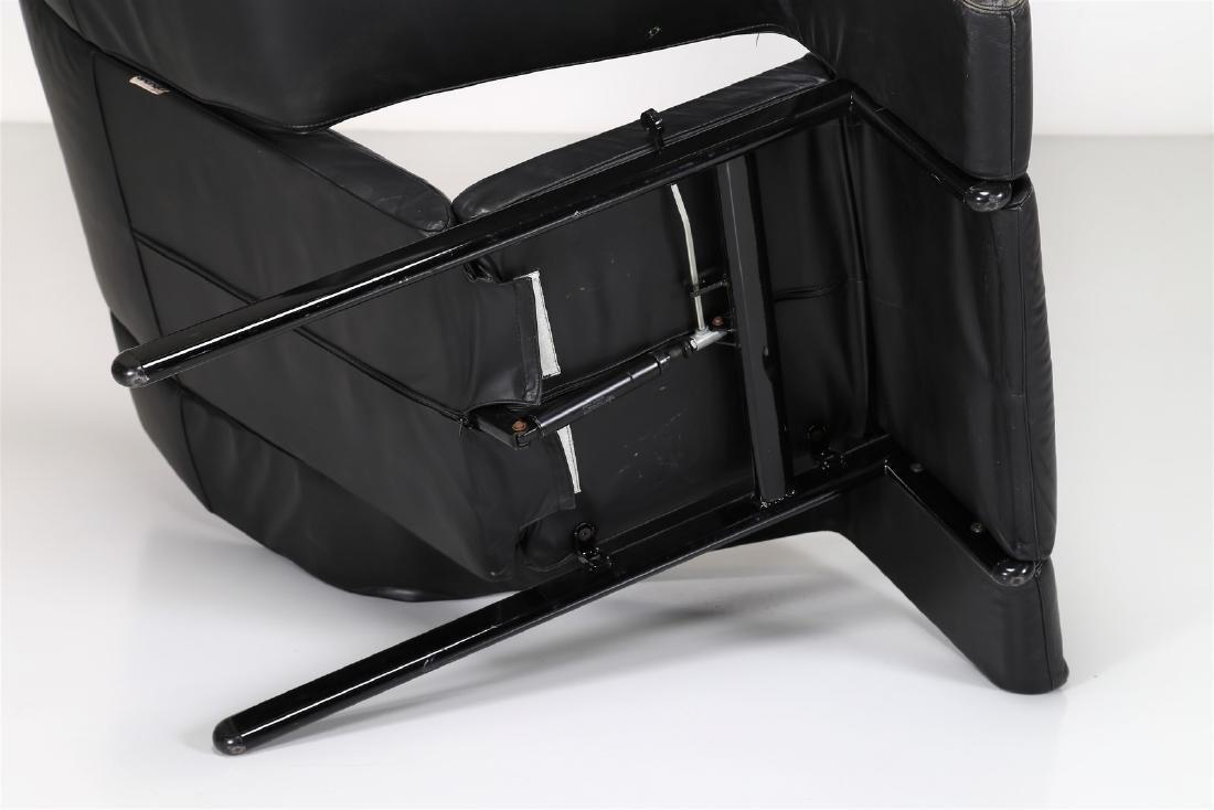 G.P.VITELLI E T.AMMANATI  Recliner armchair in metal - 7