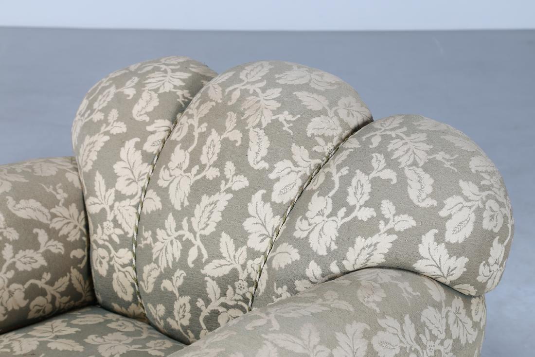 MANIFATTURA ITALIANA  Pair of wood and fabric - 3